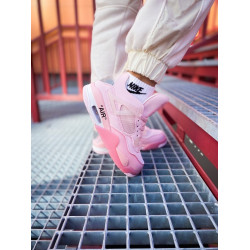 Nike Air Jordan 4 Pure Pink Off-White